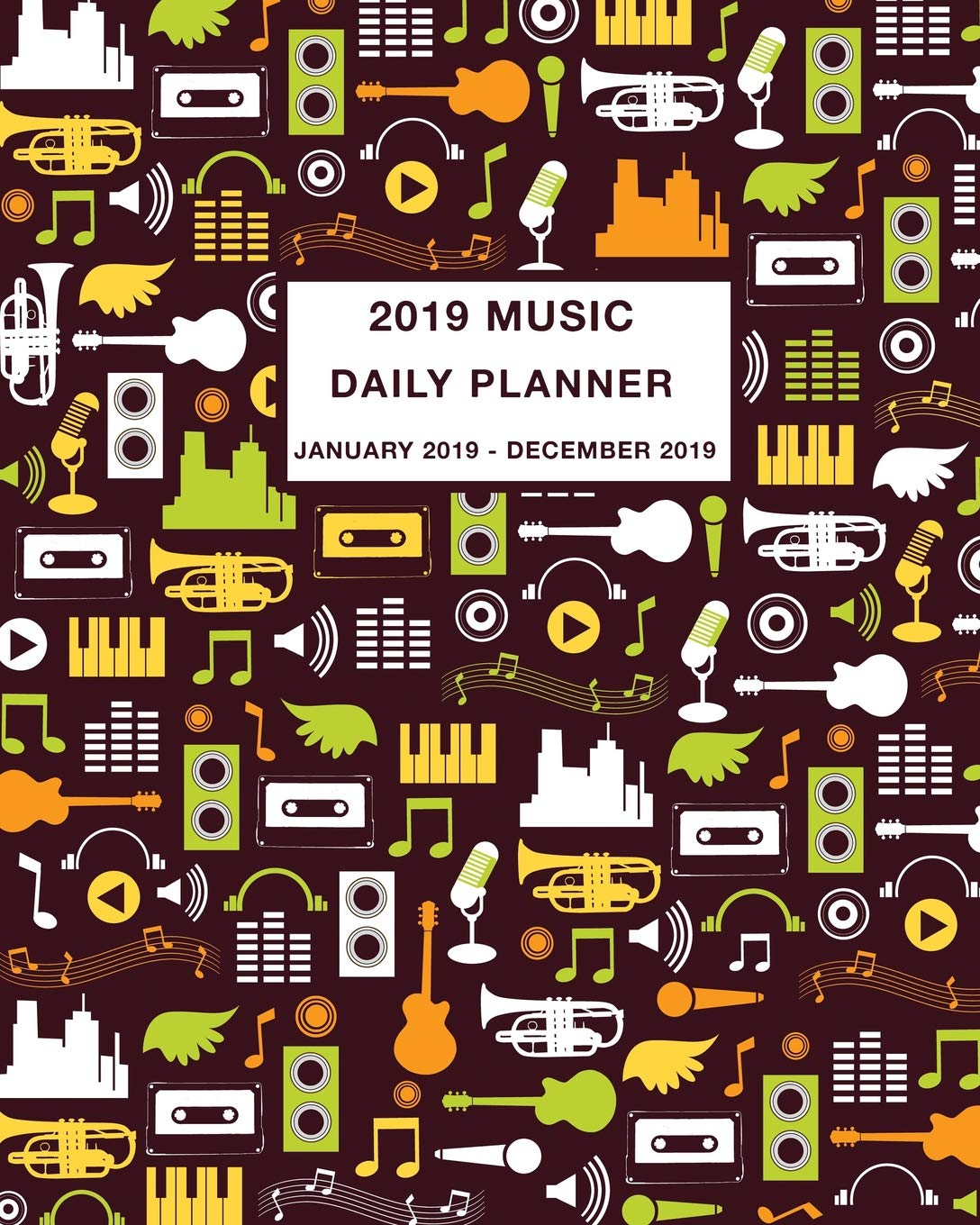 2019 Music Daily Planner: Daily, Weekly and Monthly Calendar and Planner January 2019 - December 2019 Paperback – August 3, 2018 Simple Print Press Independently published 1718032218 EDUCATION / Vocational