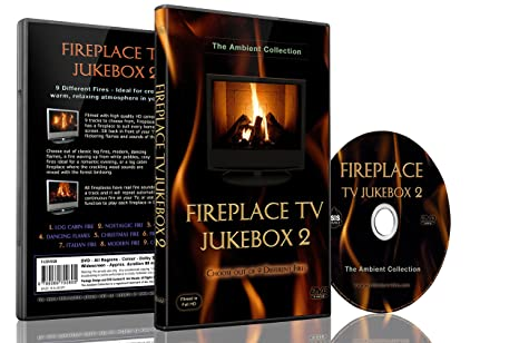 Amazon com: Fire DVD- Fireplace TV Jukebox 2-Choose out of 9