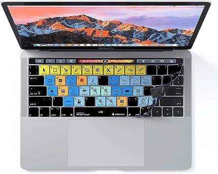 Funda diseñada para Cubase de Steinberg | Funda de teclado para Apple MacBook Pro con barra táctil - Atajos y protección
