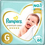 Fralda Pampers Premium Care G 68 Unidades, Pampers