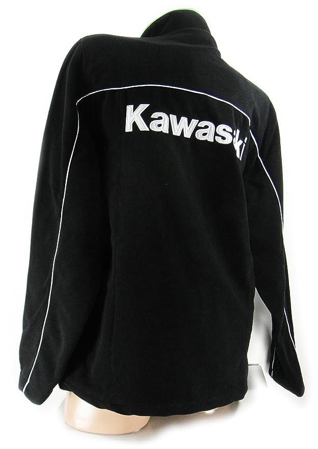 Kawasaki - Chaqueta - para mujer Negro negro Large: Amazon.es: Ropa y accesorios