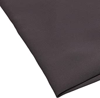 Plain Fabric Made of 100 percent Polyester, Grey - 126