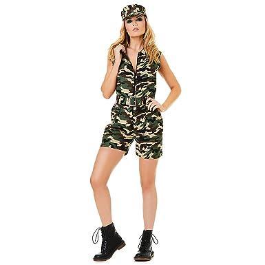 Amazon Com Karnival Costumes Army Costume Women Military