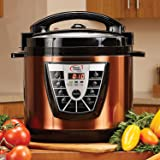 Amazon Com Power Pressure Cooker Xl 6 Quart Silver Kitchen Amp Dining