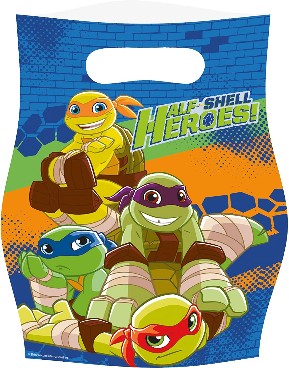 8 bolsas de fiesta * Teenage Mutant Ninja Turtles * para una ...