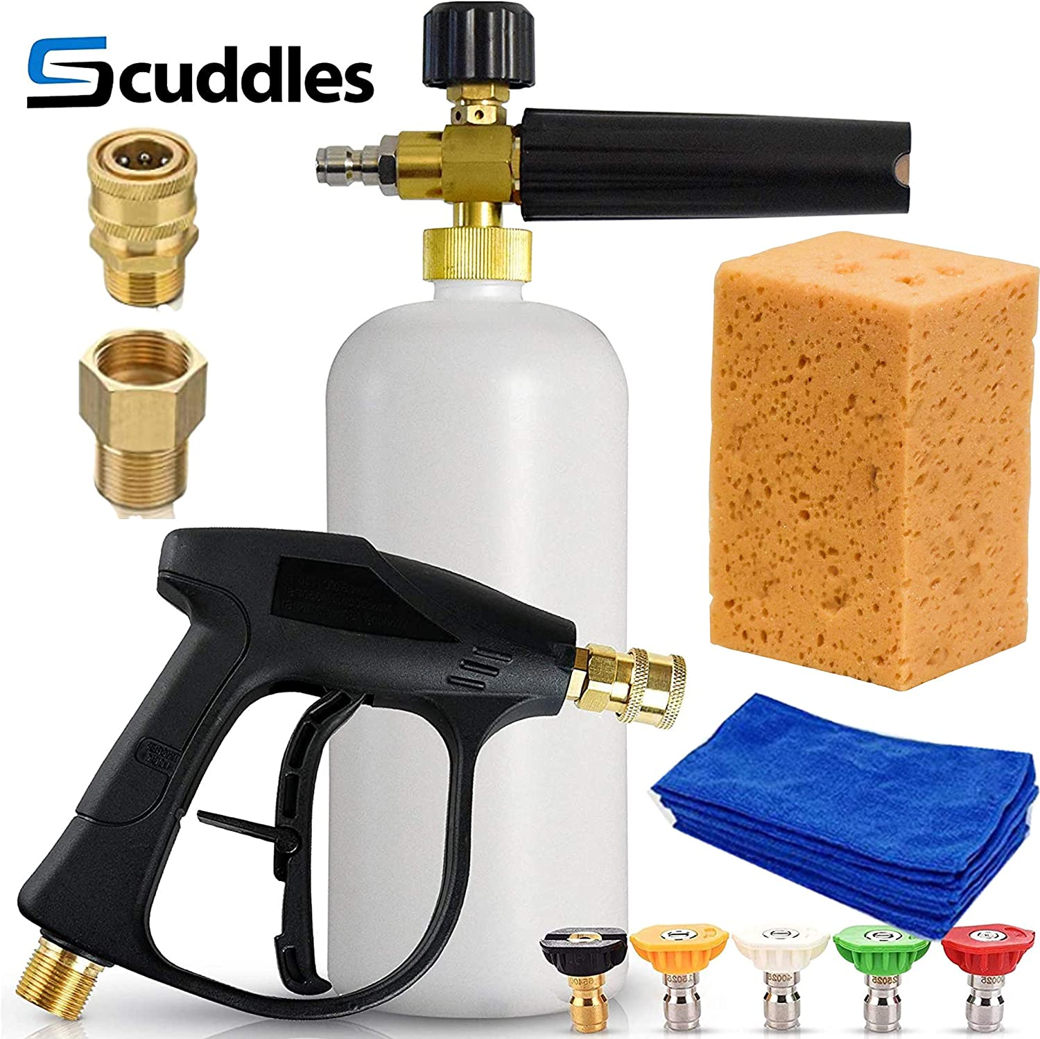 Best Car Wax 2021 Amazon.com: Scuddles | Foam Cannon | Foam Lance | Pressure Washer