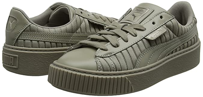 Amazon.com | PUMA Womens Basket Platform Ep WNs Trainers | Fashion Sneakers