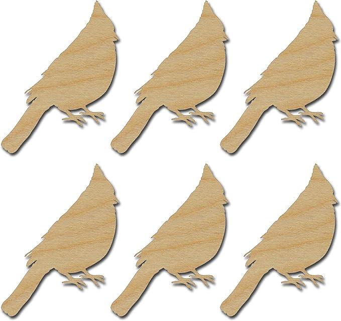 DIY Paintable Wooden Shapes Falcon Cutout Shape Wood Craft Shapes Blank Wood Falcon Shape Wood Perched Bird Shape Bird Wall Art