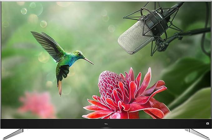 TCL U65C7006 - Televisor de 65 pulgadas, Smart TV con 4K UHD, HDR Premium, Wide Color Gamut, Android TV y JBL by HARMAN, Aluminio Cepillado [Clase de eficiencia energética A+]: Amazon.es: Electrónica