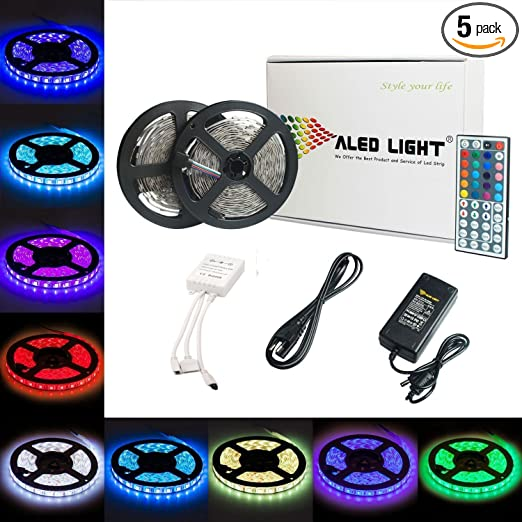 Review LED Strip Lights Kit,