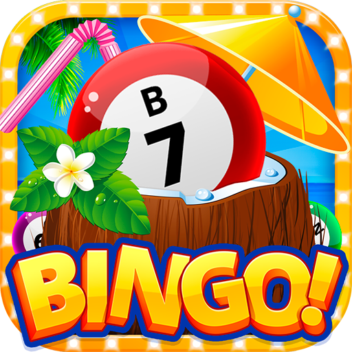 Tropical Beach Bingo Fun (Tropical Games)