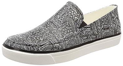 7826d10af4 Crocs Men Citilane Roka Graphic Croslite Slip-ons Sneakers Black White Size  EU 42