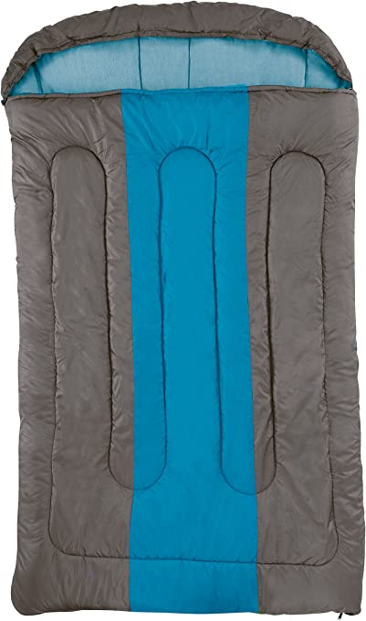 NEW Warm Double Sleeping Bag for Camping Caravan and Travel With Storage Bag!