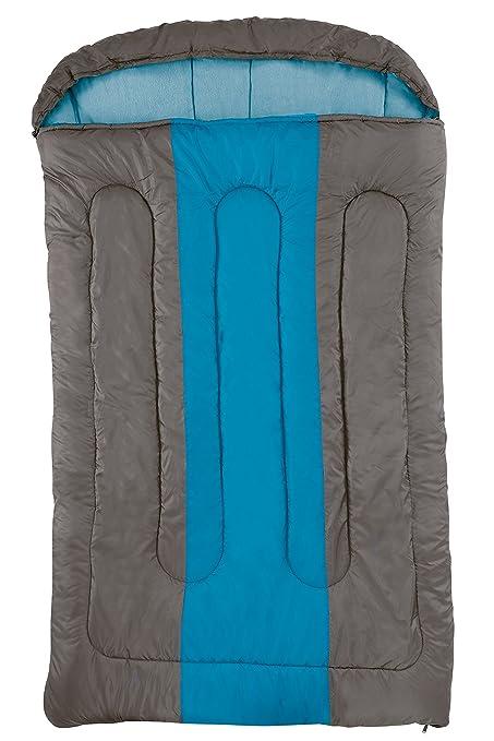 Unbekannt Hudson Coleman - Saco de Dormir Doble, Color marrón y Azul
