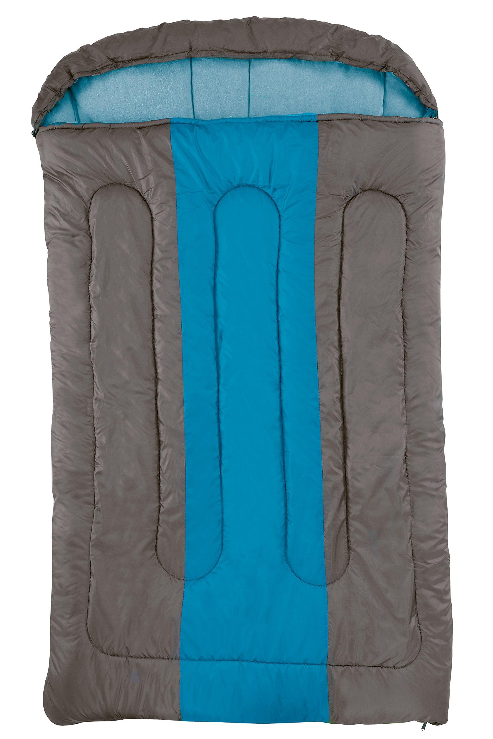 Unbekannt Hudson Coleman - Saco de Dormir Doble, Color marrón y Azul product image
