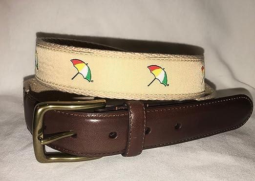 d0335dc24a5 Arnold Palmer Golf- Embroidered Logo Web Belt (36