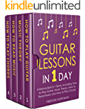 Guitar Lessons: In 1 Day - Bundle - The Only 4 Books You Need to Learn Acoustic Guitar Music Theory and Guitar Instructions for Beginners Today (Music Best Seller Book 12)