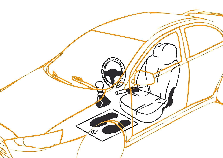 LAMPA 53007 Kit Auto Pulita 5 Pezzi