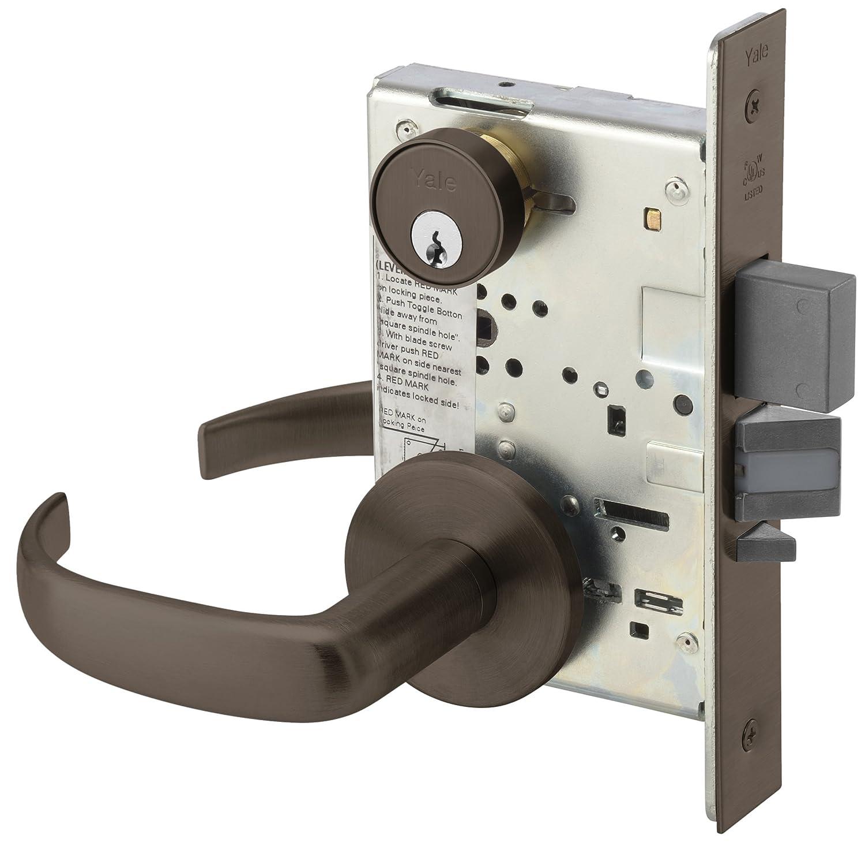 Storeroom Yale PBR 8805FL 626 Heavy Duty Mortise Lockset Lever