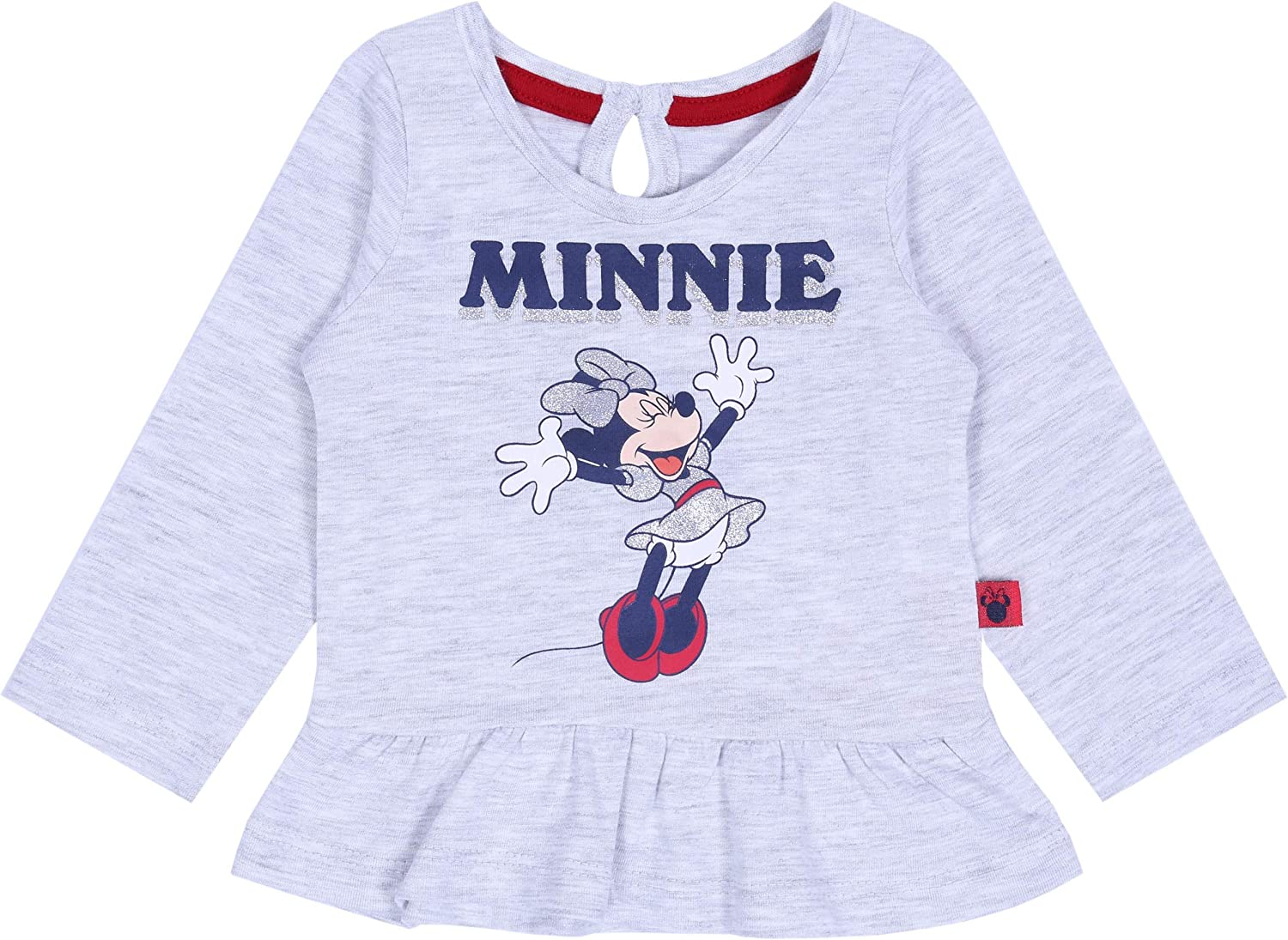 Grey Top /& Red Leggings Set for Baby Girls Minnie Mouse Disney