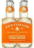 Fentimans Valencian Orange Tonic Water, Botanically Brewed, All Natural Ingredients, 4 Pack, 800 ml, Valencian Orange Tonic Water