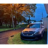 LeBra Front End Cover Honda Accord Black,55868-01 Vinyl