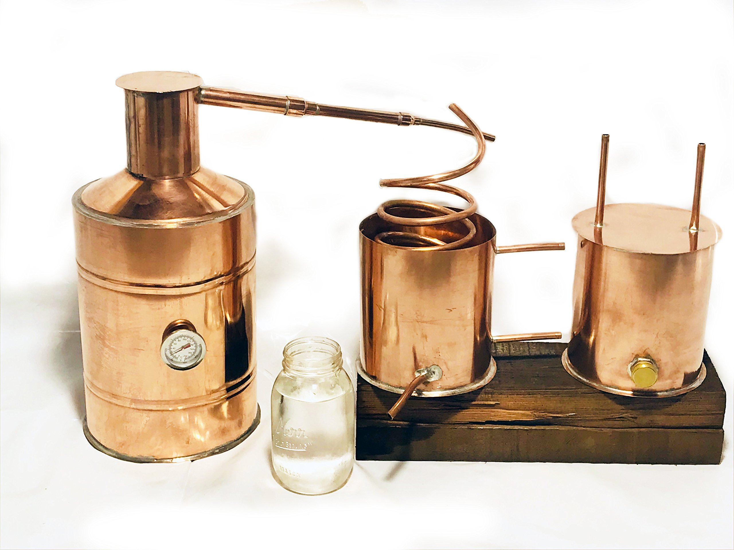 3 Gallon copper moonshine still
