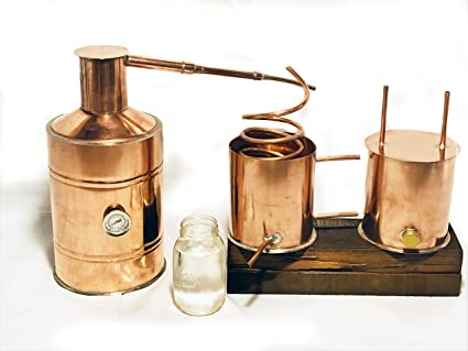Copper still kitchen