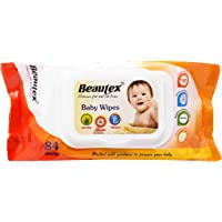 Beautex Baby Wipes Value Pack, 84ct (Pack of 3)