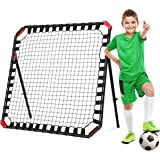 Net Playz Easy Playz Portable Soccer Rebounder, 4 Ft x 4 Ft, Easy Set Up, Sturdy Metal Tube, With Quick Folding Design, No As