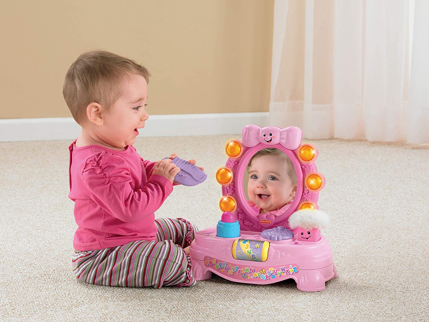 Fisher-Price Laugh and Learn Magical Musical Mirror