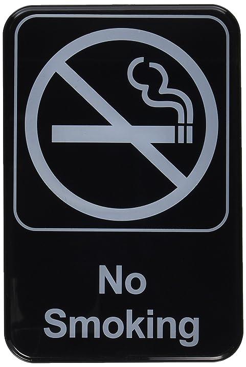 Amazon Thunder Group Plis6912bk No Smoking Information Sign
