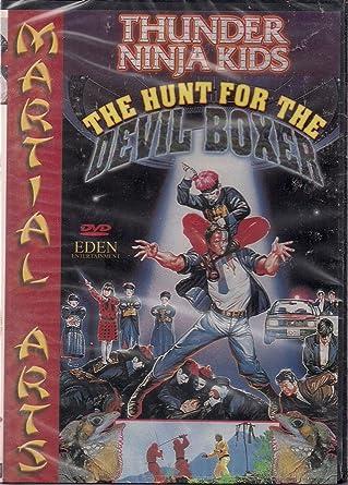 Thunder Ninja Kids: The Hunt for the Devil Boxer USA DVD ...