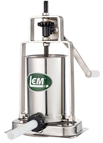 LEM Products 5 lb. Stainless Steel Vertical Sausage Stuffer Review