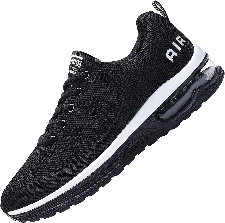 Ladies Slip On Trainers Womens Sneakers Sock Comfort Jogging Gym Pumps Shoe Size