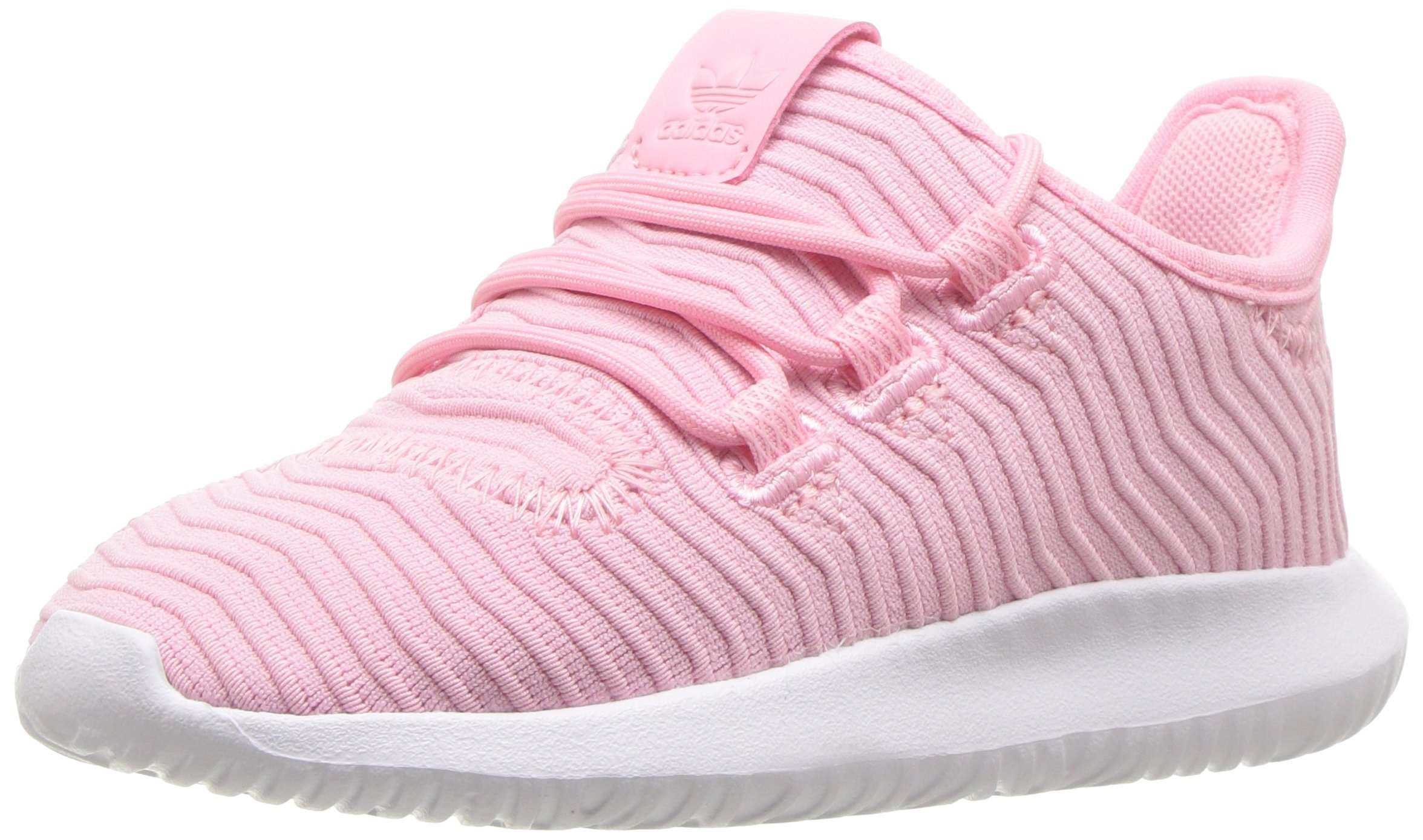 adidas Originals Baby Tubular Shadow Light Pink/White, 7K M US Toddler