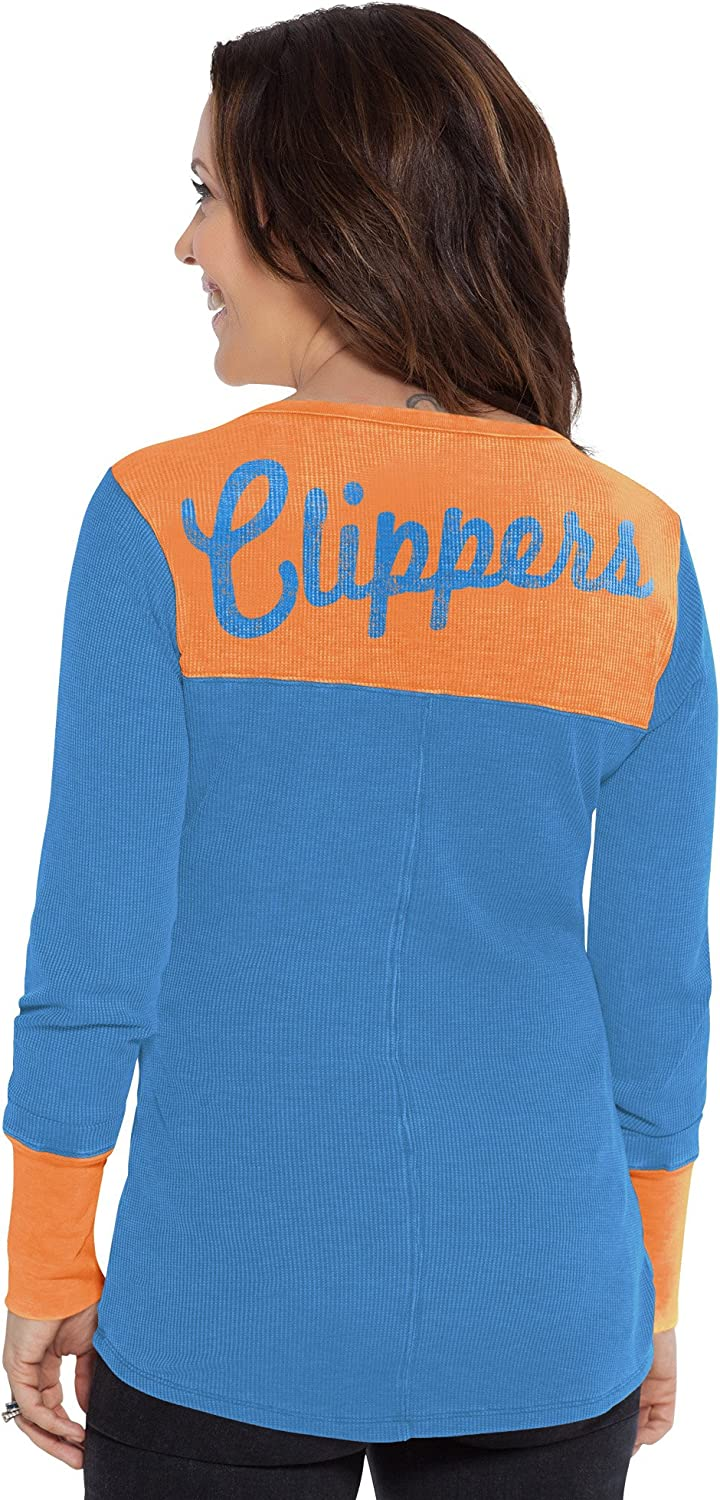 Touch by Alyssa Milano NBA San Diego Clippers Blindside Thermal Blue Large