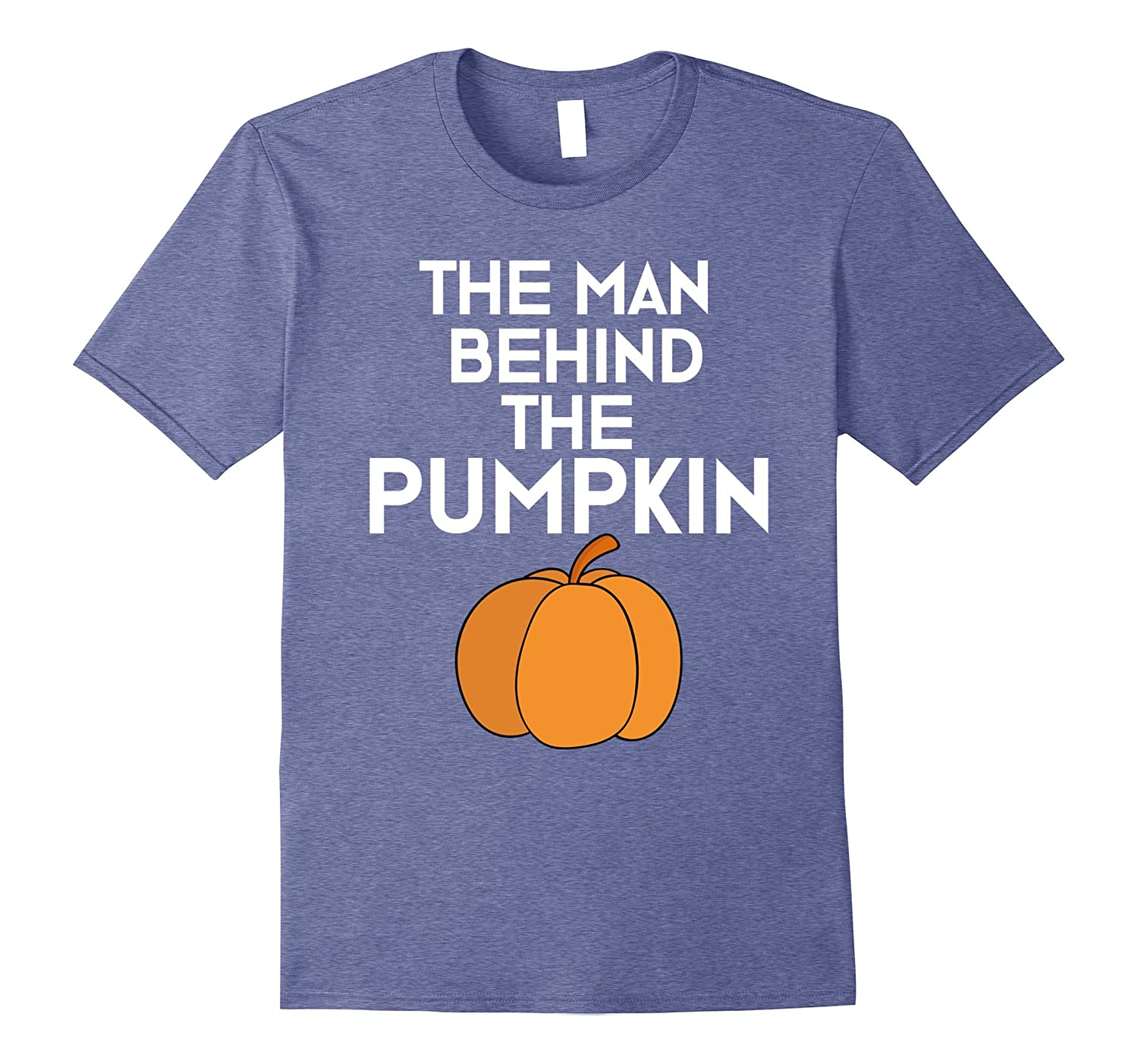 Funny Dad to Be Halloween T-Shirt The Man Behind the Pumpkin-T-Shirt