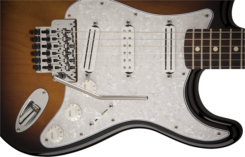 Rosewood Fender Dave Murray Stratocaster Two-Tone Sunburst