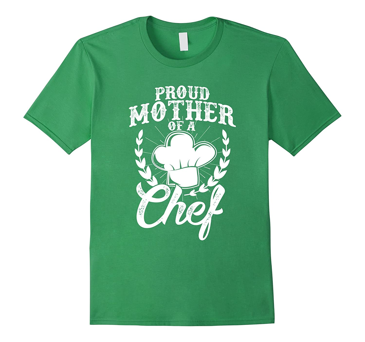 Proud Mom of Chef Funny Family Tshirt for Mother Proud Kids-TH