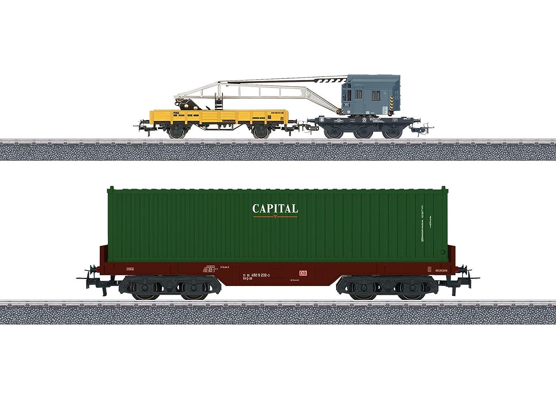 Märklin 44452 - Wagenset Containerverladung Bild