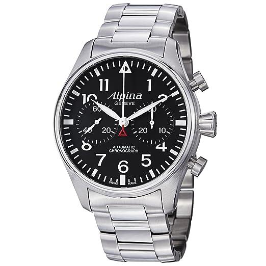 Alpina Geneve Startimer Chronograph AL-860B4S6B Reloj para hombres Alpina Rotor: Amazon.es: Relojes