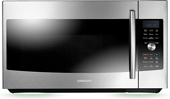 Amazon.com: Samsung mc17 F808kdt over-the-range convección ...