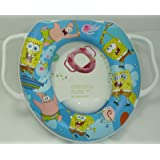 Mummy Hug Baby Kid Soft Padded Potty Training Toilet Seat With Handles, Luxury Suitable for