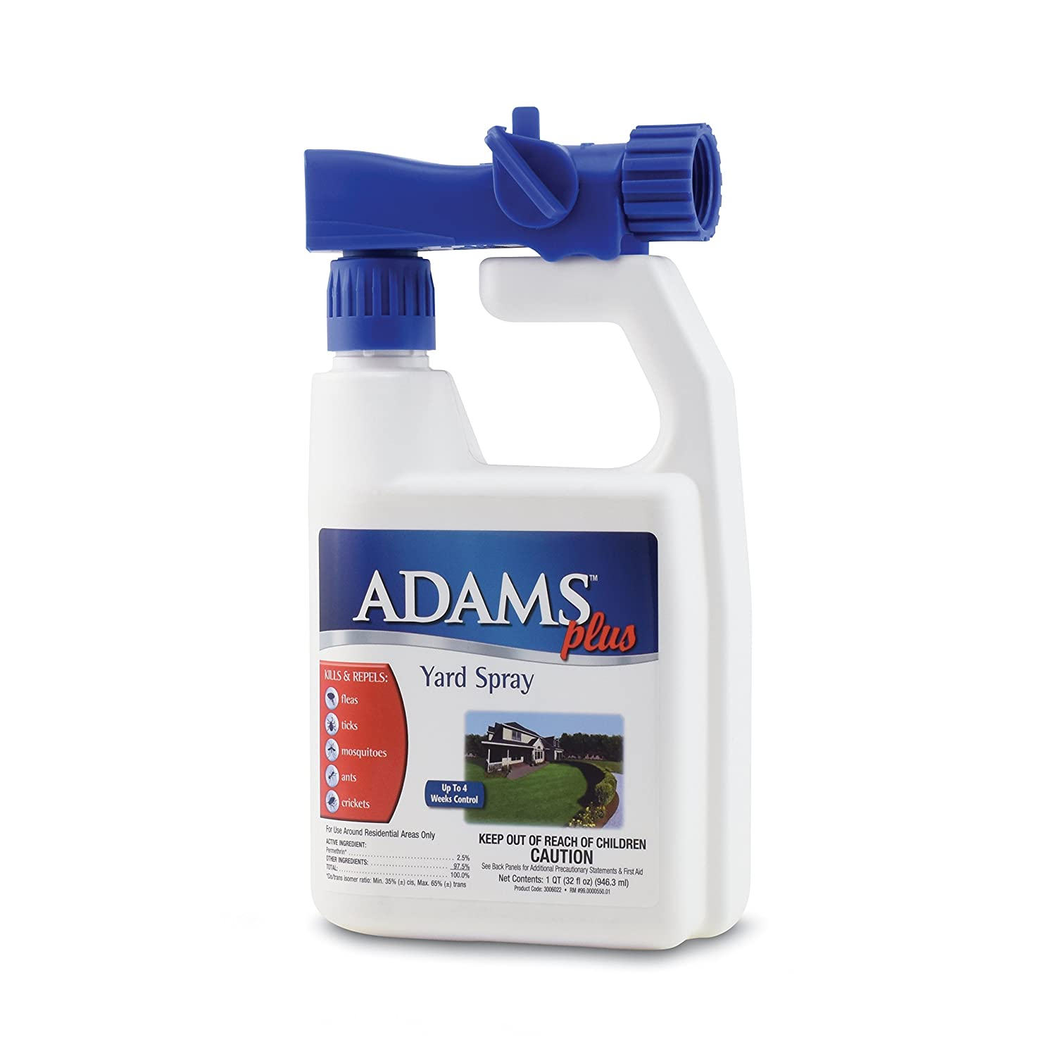 amazon com adams plus yard spray 32 oz home pest control