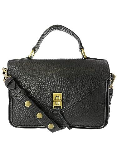 48f0e1f1204ac6 Rebecca Minkoff Women's Small Darren Messenger Bag, Black, One Size