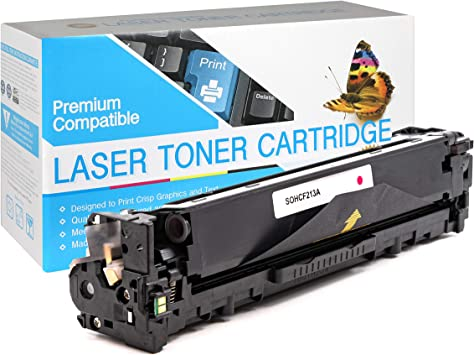 CF351A SuppliesOutlet Compatible Toner Cartridge Replacement for HP 130A Cyan,1 Pack