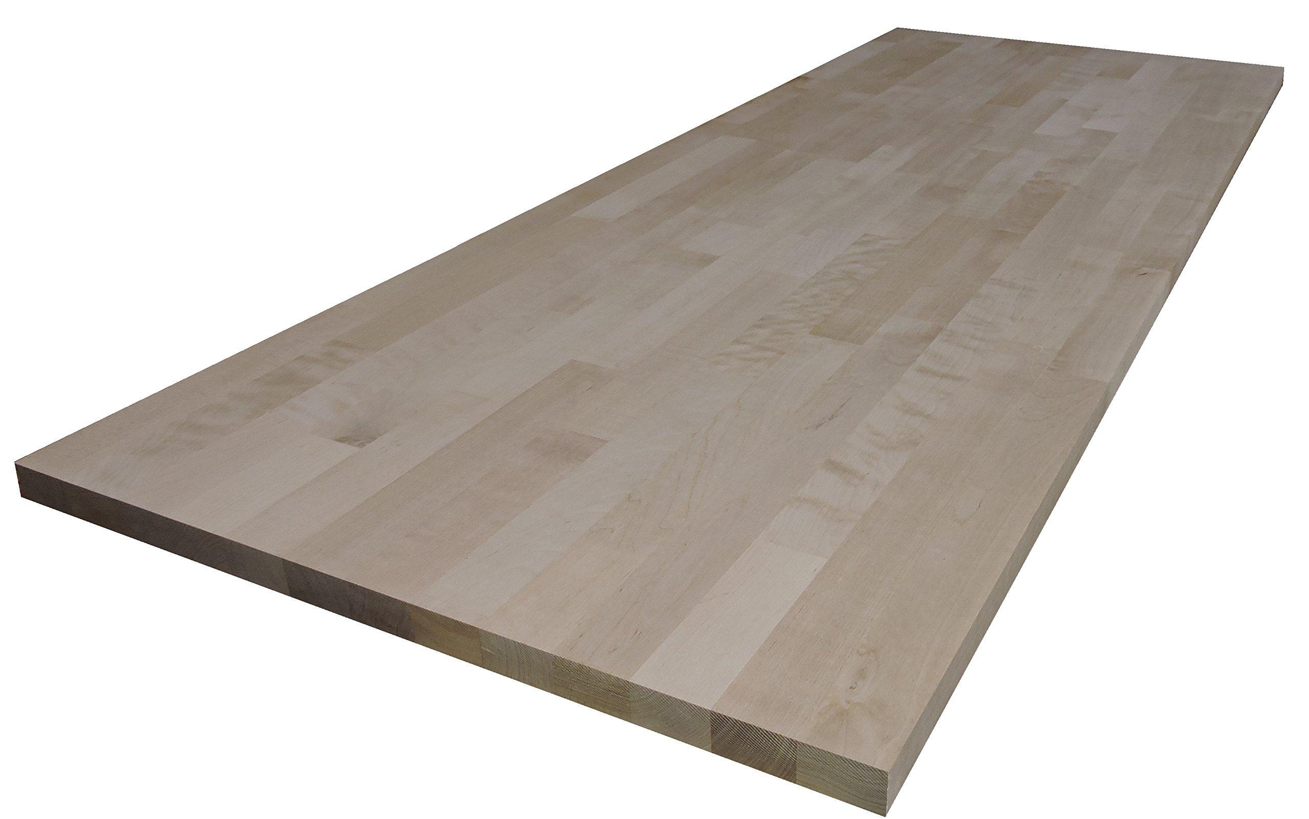 Allwood 5/4 (1.25'') x 12'' x 29'' Birch Table/Counter/Island Top see all edge options (Sharp edges)