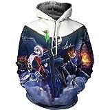 Woman Hoodies Nightmare before Christmas printed Pullover Pocket hoodie M-6XL822