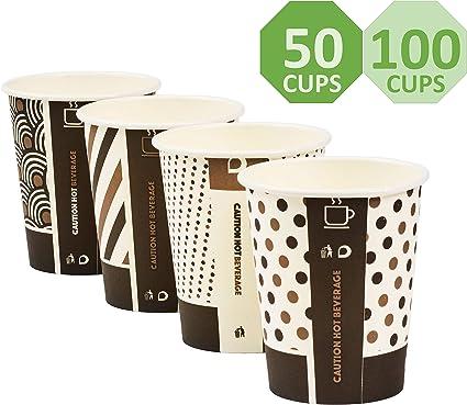 Vasos de bambú desechables ecológicos en diseño mixto ...